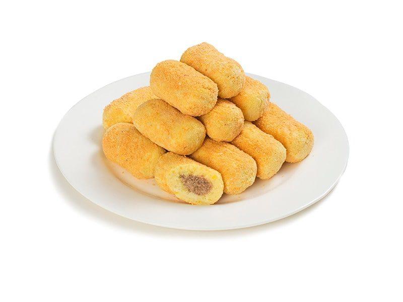 Зразы картофельные с мясной начинкой