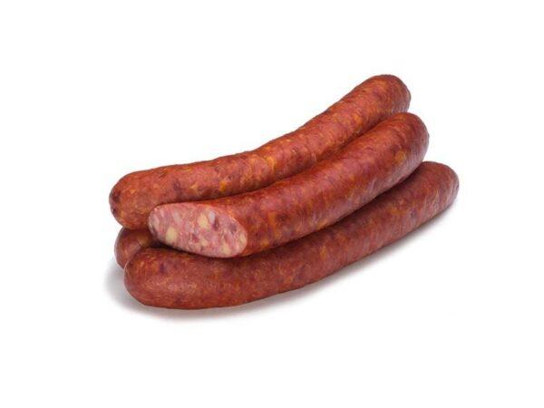 Пряные колбаски с сыром (в череве) п/к