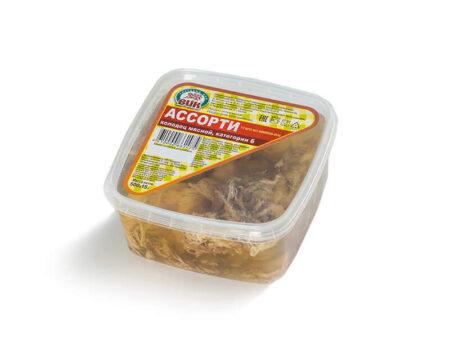 """Холодец мясной """"Ассорти"""" категории Б (500 гр.)"""